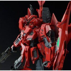 P-Bandai: MG 1/100 Zeta Gundam (P2 Type) Red Snake's Zeta