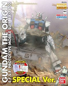 1/100 MG RX-78-02 Gundam (GUNDAM THE ORIGIN Ver) Special Version