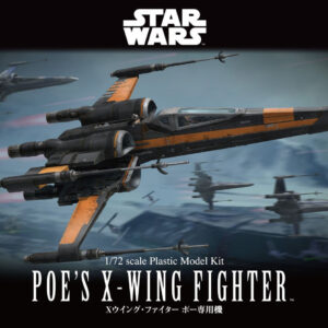 Bandai Star Wars:  1/72 Poe'S X-Wing Fighter