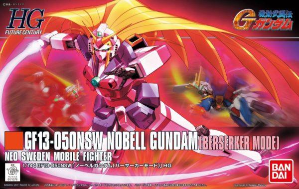 1/144 HGFC Nobell Gundam Berserker Mode