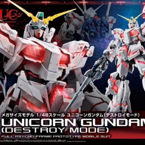 1/48 Mega Size Model Unicorn Gundam Destroy Mode