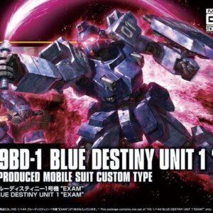 1/144 HGUC RX-79BD-1 Blue Destiny Unit 1 EXAM