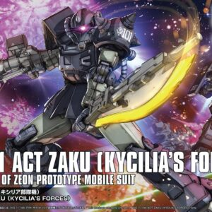 1/144 HG Act Zaku (Kycilia's Forces)