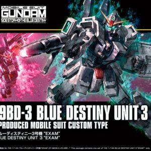 1/144 HGUC Blue Destiny Unit 3 EXAM