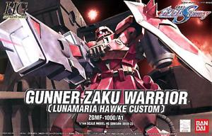1/144 HG Gunner Zaku Warrior Lunamaria Hawke
