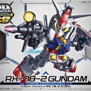 #01 SD Gundam Cross Silhouette RX-78-2 Gundam