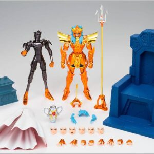 Myth Cloth EX Sea Emperor Poseidon Imperial Throne Set