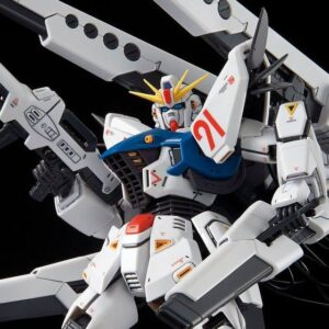 P-Bandai: 1/100 MG Gundam F91 Ver. 2.0 Back Cannon mounted type & Twin