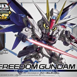#08 SD Cross Silhouette Freedom Gundam