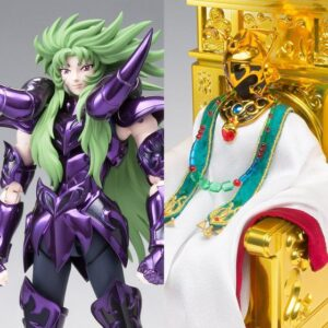 Saint Seiya Myth Cloth EX Aries Shion Surpilce & Pope Set