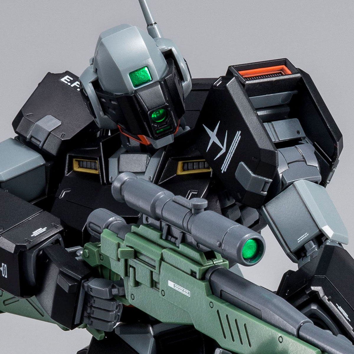 P-Bandai: MG 1/100 GM Sniper II (Lydo Wolf Custom) (July 2019 Release)