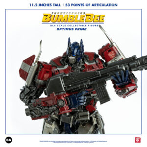 3A Transformers DLX Optimus Prime 28cm Tall