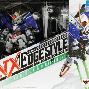 NX EDGE STYLE MS Unit 00 Gundam/00 Raiser Set