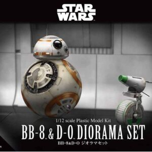 Bandai Star Wars: 1/12  BB-8 & D-0 Diorama Set
