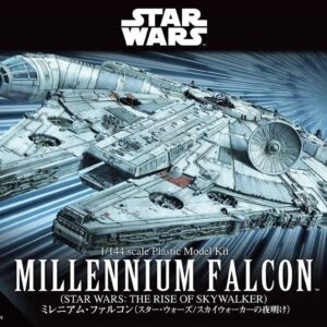 Bandai Star Wars: 1/144 Millennium Falcon (Star Wars: The Rise of Skywalker)