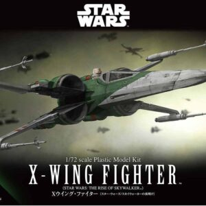 Bandai Star Wars: 1/72 X-wing Fighter (The Rise of Skywalker) (Feb 2020 Restock)