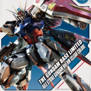 P-Bandai: MG 1/100 Aile Strike Gundam Ver. RM [Clear Color]  (July 2020 Release)