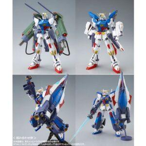 P-Bandai: MG 1/100 Gundam F90II Intercept Mission Pack (July 2020 Release)