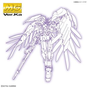 MG 1/100 Wing Gundam Zero EW Ver.Ka (Dec 2020 Release)