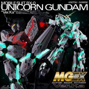 MGEX 1/100 Unicorn Gundam Ver. Ka (Oct 2020 Release)