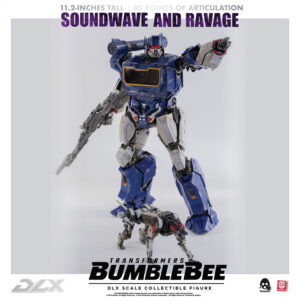 Transformers BUMBLEBEE – DLX SOUNDWAVE AND RAVAGE (Oct 2020 Release)