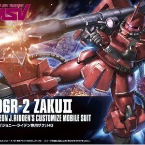 1/144 HGUC MS-06R2 Zaku II Johnny Ridden Custom