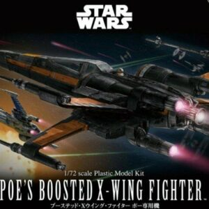 Bandai Star Wars: 1/72 Poe's Boosted X-WingFighter