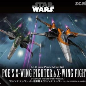 Bandai Star Wars: 1/144 Poe's X-Wing Fighter & X-Wing Fighter