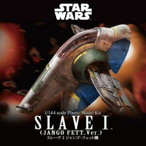 Bandai Star Wars: 1/144 Slave I (Jango Fett Ver.)