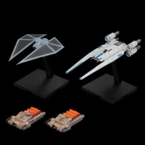 Bandai Star Wars: 1/144 U-Wing Fighter & Tie Striker