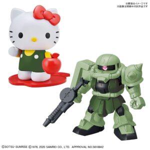 SD Cross Silhouette Hello Kitty/Zaku II (Dec 2020 Release)