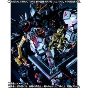 METAL STRUCTURE RX-93 nu Gundam Option Parts + Londo Bell Engineers
