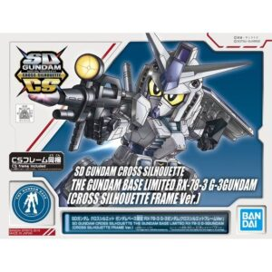 SD Cross Silhouette RX-78-3 Gundam G-3 [Cross Silhouette Frame Ver.] [Gundam Base Limited]  (Feb 2021 Release)