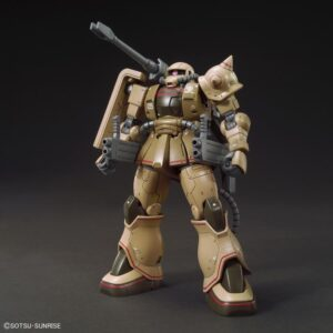 1/144 HG MS-06CK Zaku Half Cannon