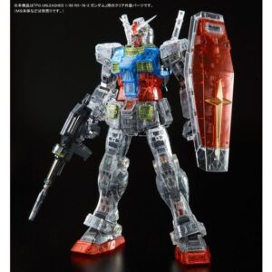 P-Bandai: PG Unleashed 1/60 RX-78-2 Gundam [Clear Color Body] (May 2021 Release)