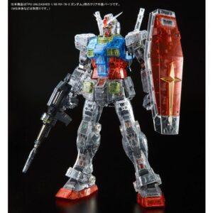 P-Bandai: PG Unleashed 1/60 RX-78-2 Gundam [Clear Color Body]