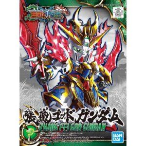 SD Sangoku Soketsuden Zhang Fei God Gundam 03  (Jan 2021 Release)
