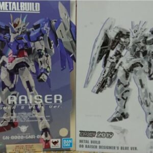 BANDAI METAL BUILD Double 00 Raiser Designers Blue Ver.