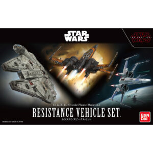 Bandai Star Wars: 1/144 & 1/350 Resistance Vehicle Set