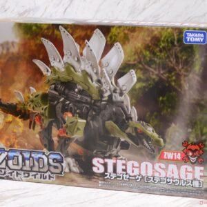 Zoids ZW14 Wild Stegosage by Takara Tomy