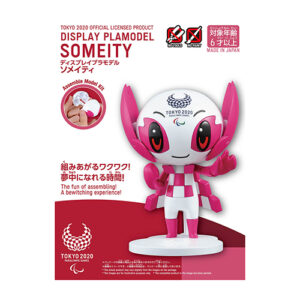 Tokyo 2020 Paralympic Display plamodel Someity
