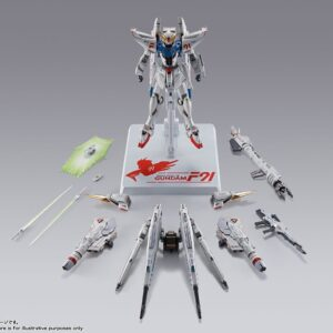 METAL BUILD Gundam F91 CHRONICLE WHITE Ver. (April 2021 Release)