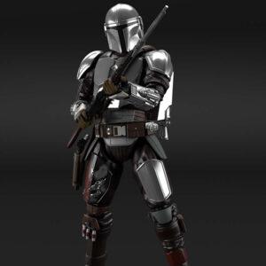 Bandai Star Wars: 1/12 The Mandalorian (Bessar Armor) Silver Coating Ver. (July 2021 Release)