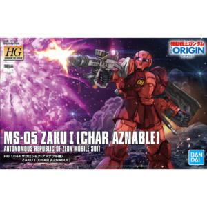 1/144 The Origin – HG Zaku I (Char Aznable)