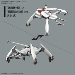 1/48 HG Reginleif Equipped with Blade (Provisional) (Oct 2021 Release)