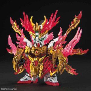 SD Sangoku Soketsuden Flame Emperor Zhang Fei God Gundam (July 2021 Reissue)